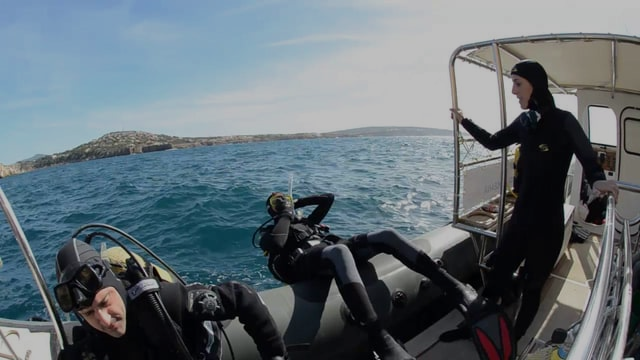 Inmersión de Alexandra Cousteau en la Reserva Marina Islas Malgrats (Santa Ponsa) - Mallorca