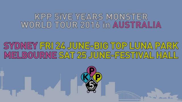 Kyary Pamyu Pamyu – Message to fans in AUSTRALIA – KPP 5iVE YEARS MONSTER WORLD TOUR