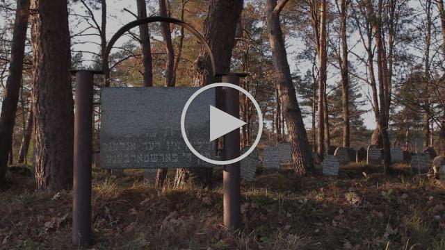 Jewish cemetery in Užpaliai, Lithuania