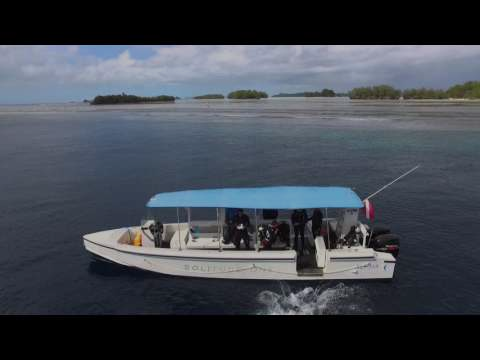 Flying around Palau