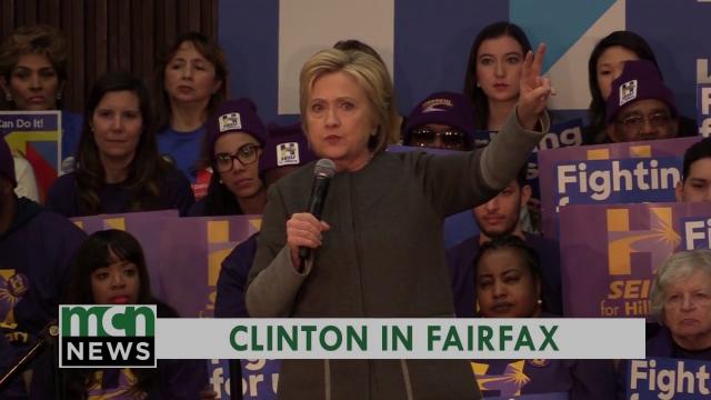 Clinton in Fairfax
