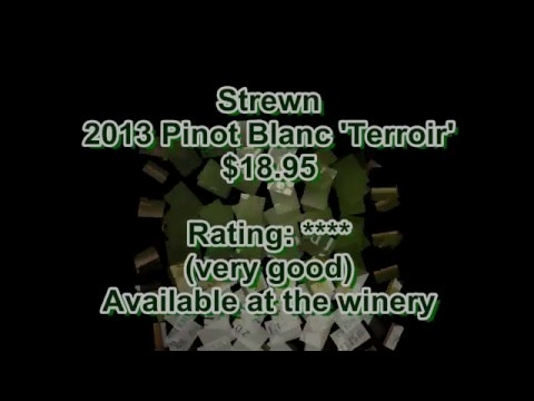 Ontario Wine Review Video #165: Strewn 2013 Pinot Blanc and Gewurztraminer