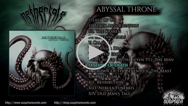 "Nethertale- ""Abyssal Throne"" Full Album Video Preview [2015]"