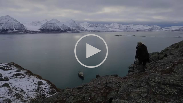 Svalbard into the ice