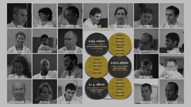 AIKIDO-BUDO - Portfolio - Horaires - Enseignants et Pratiquants