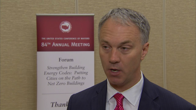 Mayor's Conference Interviews: Building Energy Codes