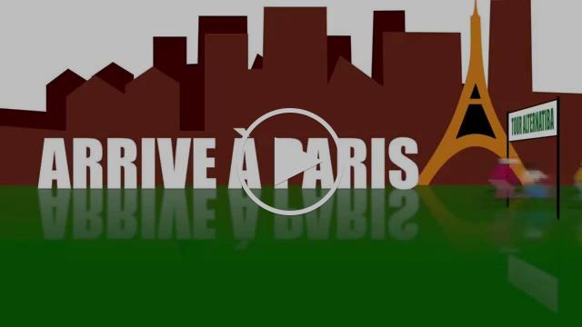 Le #TourAlternatiba arrive à Paris