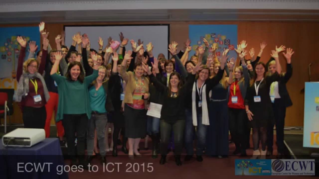 ECWT goes to ICT 2015