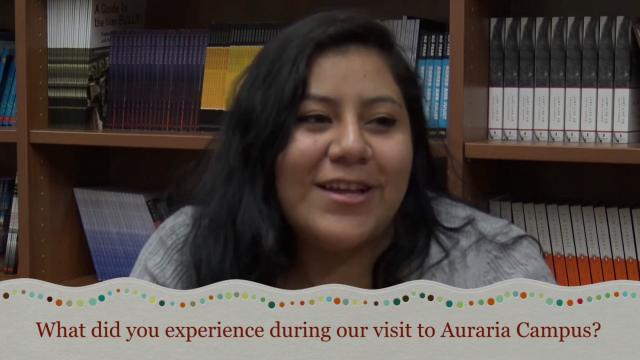 Student Impact - Auraria Campus Visit RISE Colorado