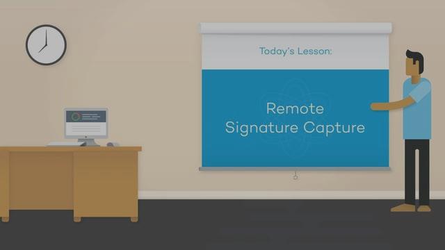 Remote Signature Capture