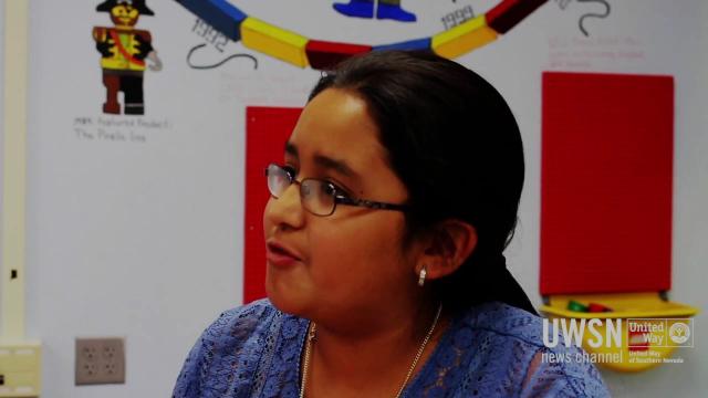 Meet Elizabeth!  UWSN's YPS Piggy Bank Program Helps Students Save