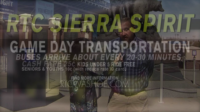 The Road Ahead with RTC: Take SIERRA SPIRIT to the Nevada Game