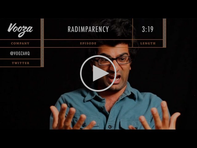 The best tech startup spoof video ever: Vooza on Radimparency