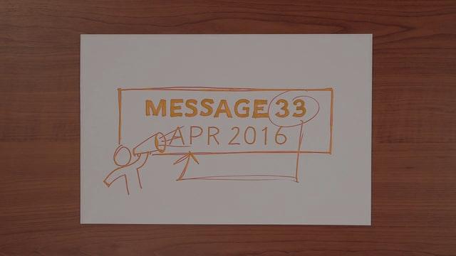 John Stumbo Video Blog - Message No. 33 - April 2016
