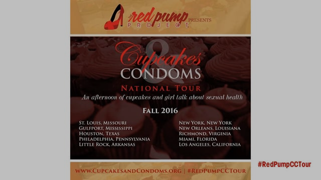 Cupcakes and Condoms:2016 National Tour
