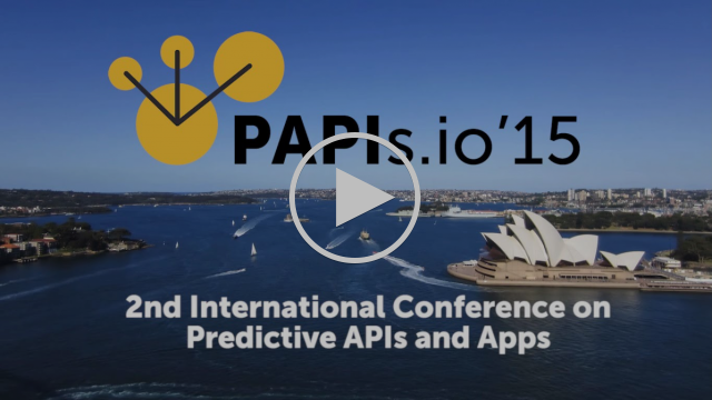 PAPIs '15: 2nd International Conference on Predictive APIs and Apps