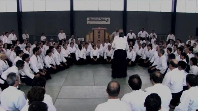 TAMURA Nobuyoshi Shihan Stage Aikido Mars 2008