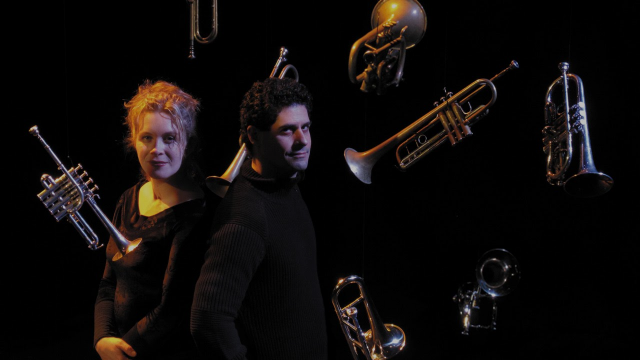 8 trompettes et 1 piano, Frederic Demers et Jacynthe Riverin