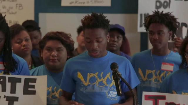 Dantay Williams, VOYCE Youth Leader