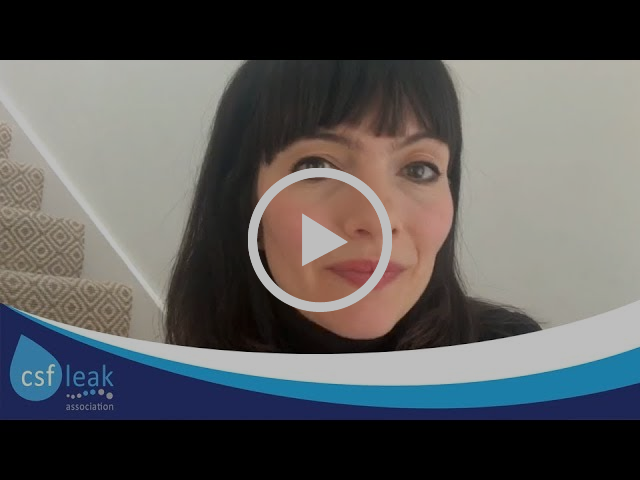 Polly Walker - Life with a Cerebrospinal Fluid (CSF) Leak