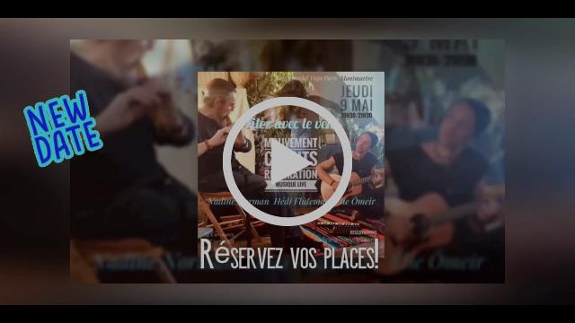 Voir Vidéo Flyerutube➦Un petit aperçu de la musique live avec Elie Ô. et Hédi Flûteman en utube