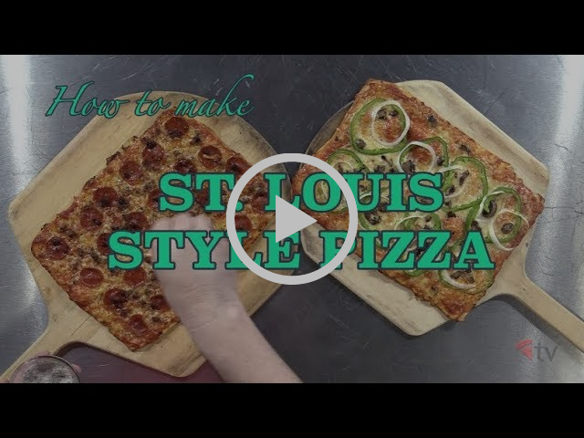 The Pizza Kitchen - How to Make St. Louis Style Pizza