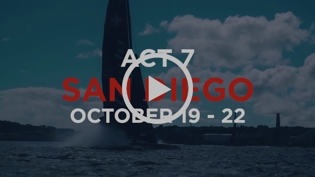 2017 Extreme Sailing Series™ Act 7, San Diego: How to follow