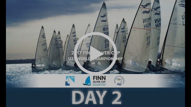 Highlights from Day 2 of the 2017 U23 Finn World Championships