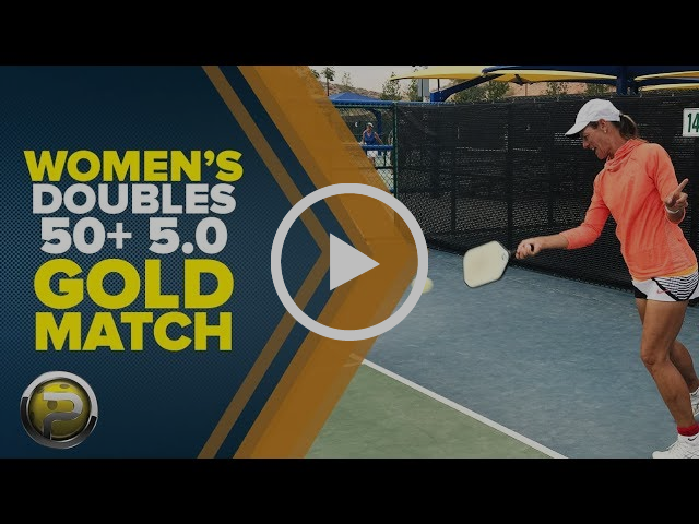 Women's 5.0 Gold Medal Match from Huntsman World Senior Games 2017