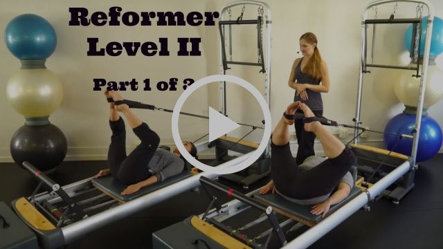 Upside-Down Pilates - Reformer Level II Part 1 of 3