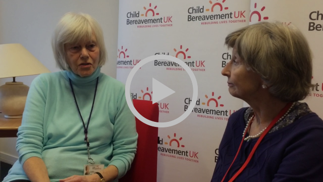 Child Bereavement UK in support of Heads Together - Pam + Christine #oktosay