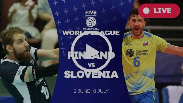 Finland v Slovenia - Group 2: 2017 FIVB Volleyball World League