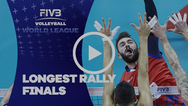 FIVB - World League Finals: Longest Rally of the Week