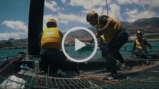 Extreme Sailing Series™ Act 3, Madeira Islands - day two highlights