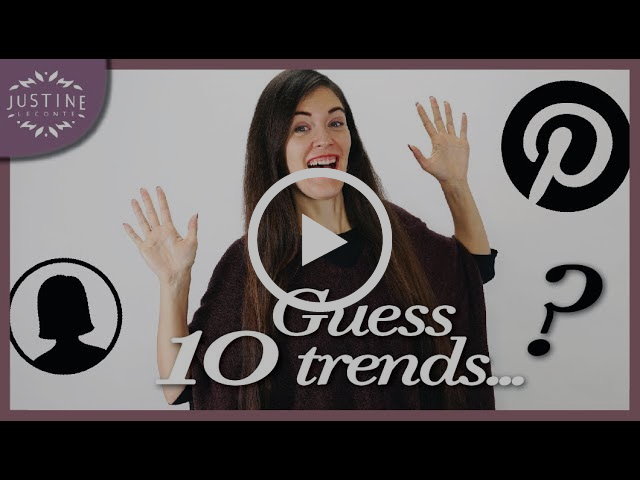Top Trends 2018… according to Pinterest ! ǀ Women's style ǀ Justine Leconte