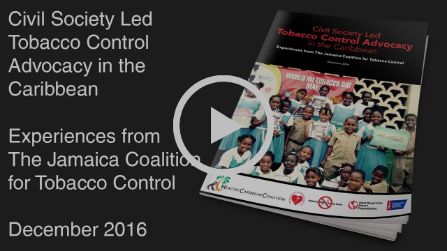 Tobacco Control  Advocacy in the  Caribbean