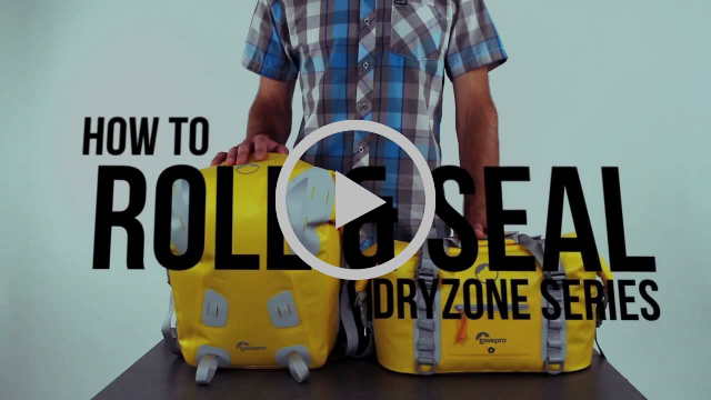 Lowepro Dryzone Camera Bag 40L & 20L - How To Properly Seal The DryZone Bag