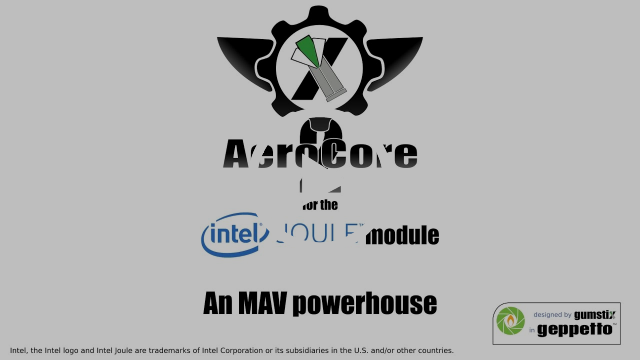 AeroCore 2 for the Intel® Joule™ module intro and RealSense™ demo