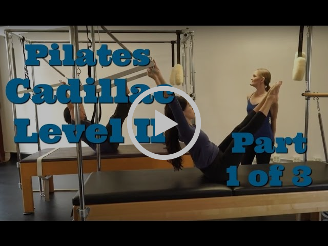 Upside-Down Pilates - Cadillac Level II Part 1 of 3
