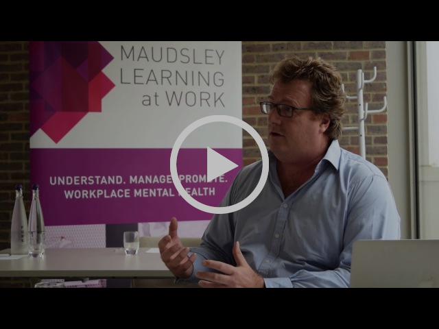Jonathan Naess - The Supportive Workplace
