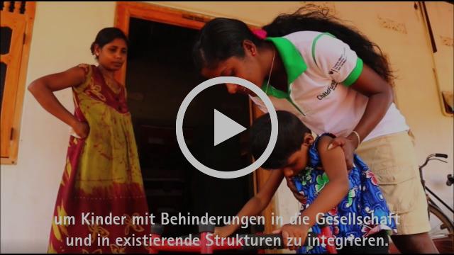 Youtube: Hilfe für Kinder mit Behinderungen