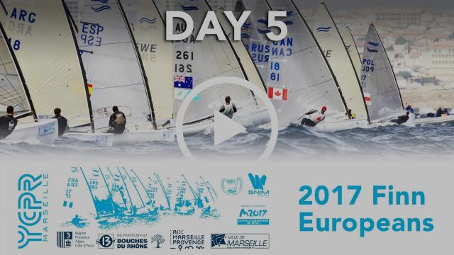 2017 Finn Euros - Day 5