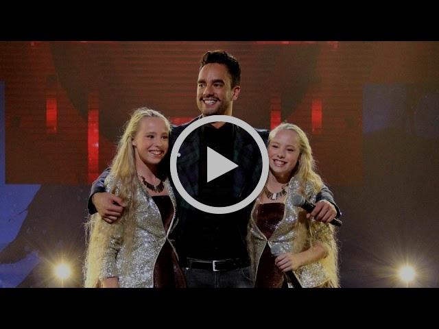 Freek Bartels en Mylène & Rosanne - Droom Durf Doe En Deel   Junior Kerstshow