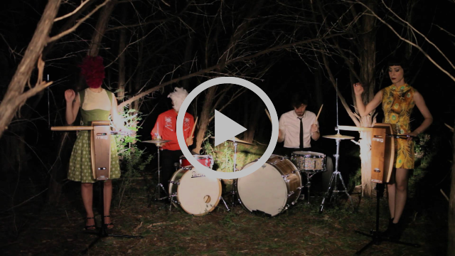 "The Octopus Project ""Sharpteeth"" official video"