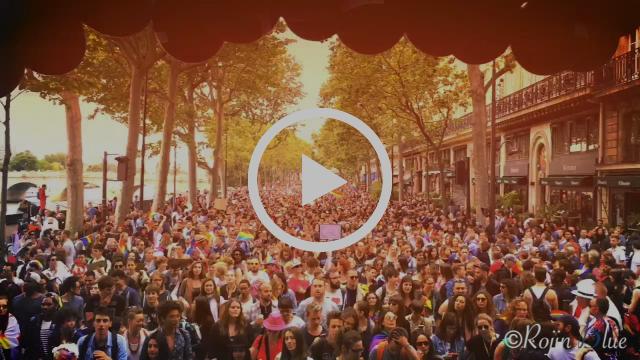 Le Lesbotruck - La marche des fiertés 2016