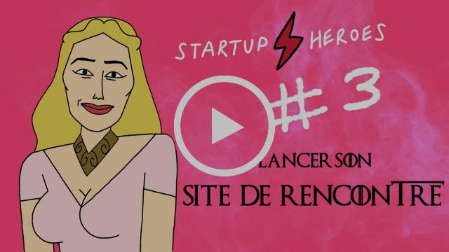 Cersei Lannister lance son appli de rencontre - Startup Heroes #3