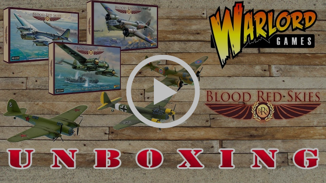 Blood Red Skies Bombers Unboxing