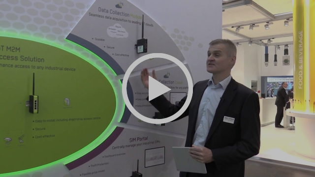 Secomea Data Collection Solutions Introduced - SPS IPC Drives 2017