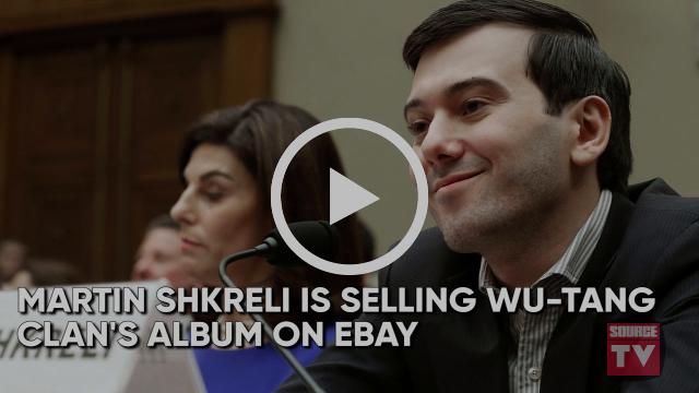 Martin Shkreli Selling Wu-Tang Album, Timbaland Working With Meek Mill | Source News Flash