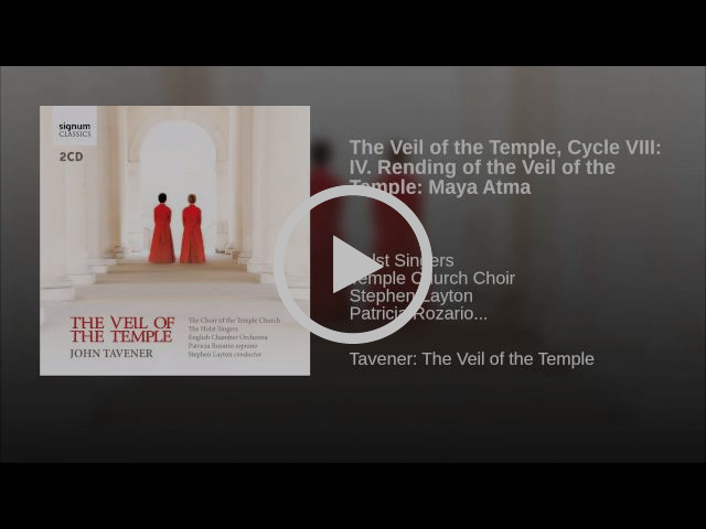 The Veil of the Temple, Cycle VIII: IV. Rending of the Veil of the Temple: Maya Atma